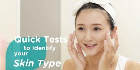 Free pH Testing for Skin biglietti