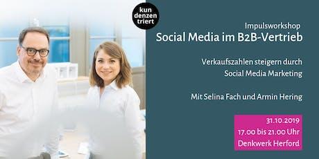 Social Media im B2B-Vertrieb Tickets