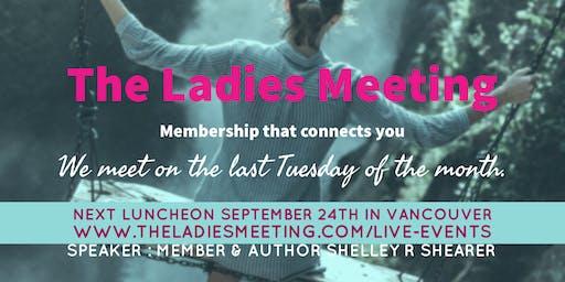 The Ladies Meeting November 2019 Vancouver