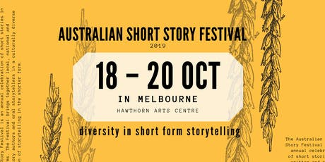 The Australian Short Story Festival tickets