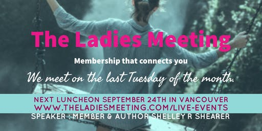 The Ladies Meeting December 2019 Vancouver