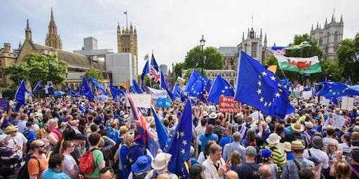 Oxford Remain Labour Coach to People's Vote March