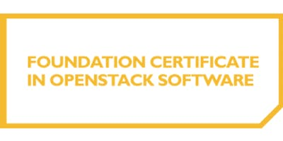 Foundation Certificate In OpenStack Software 3 Days Training in Helsinki