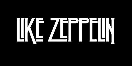 Like Zeppelin tickets