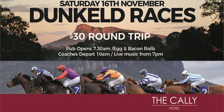 Dunkeld Races Coach Cally Hotel Warrnambool  tickets