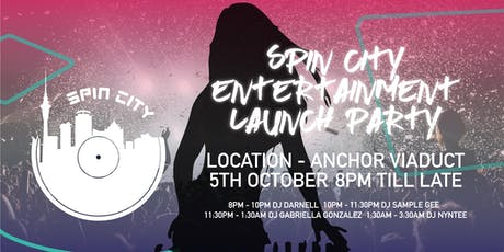 Spin City Entertainment Launch Party tickets
