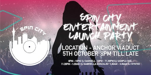 Spin City Entertainment Launch Party