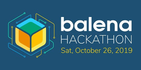 IoT Workshop and Hackathon with balena  tickets