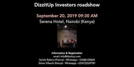 DizzitUp Investors roadshow - Nairobi