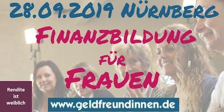 Frauen-Finanz-Forum Nürnberg Tickets