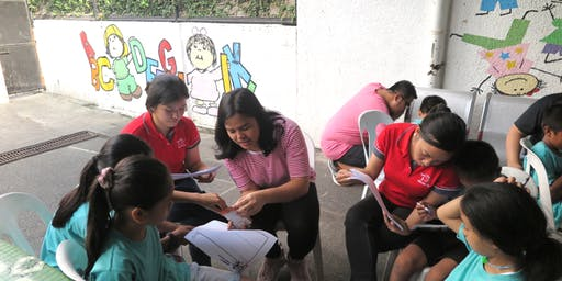 Financial literacy outreach activity with Pru's MDRT agents - Manila venue