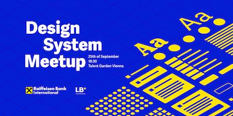 Design System Meetup Vienna Tickets
