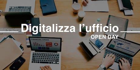Digitalizza l'ufficio! - Open Days - Ottobre biglietti