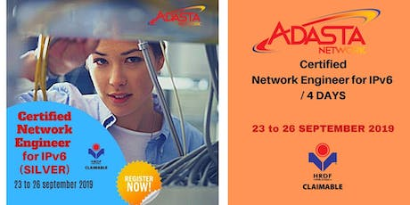 CERTIFIED NETWORK FOR IPv6 ENGINEER / 4 Days tickets