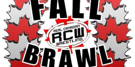 Real Canadian Wrestling - Fall Brawl tickets