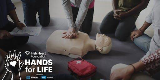Kilkenny St Kieran's Community Hall - Hands for Life