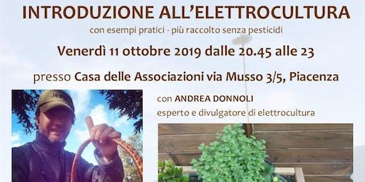 Introduzione all'elettrocultura - più raccolto senza pesticidi