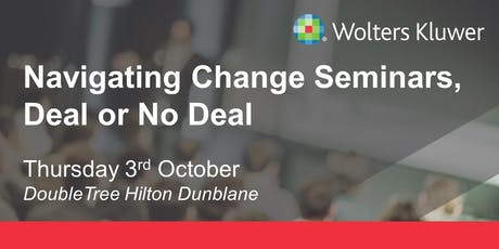 Wolters Kluwer Seminar - Scotland tickets