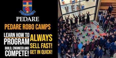 RoboCamps @ Pedare - October Holidays 2019 tickets