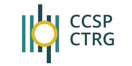 CCSP - CTRG Journée d'acceuil Welkomdag billets