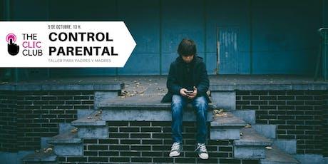 Taller Control Parental en Redes Sociales para Padres/Madres entradas
