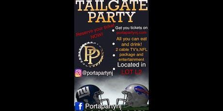 Giants vs Bills   Sunday  9/15/19 tickets