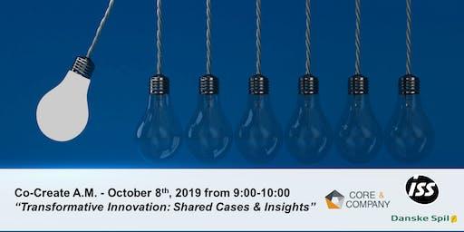 Transformative Innovation; Shared Cases & Insights