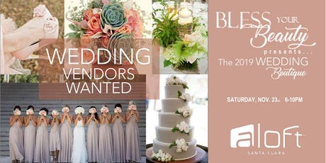 Wedding Boutique VENDORS WANTED tickets