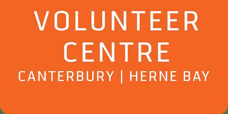 AGM - Canterbury & Herne Bay Volunteer Centre - October 2019 tickets