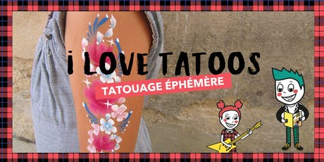 I Love Tattoos* So Punk au Bon Marché Rive Gauche billets