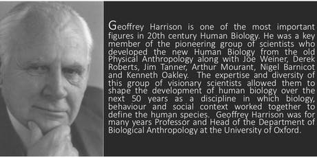Geoffrey Harrison Prize Lecture 2019 tickets