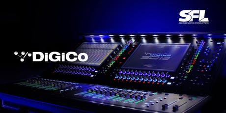 DiGiCo SD Consoles Training tickets