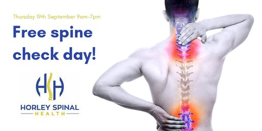 Check Your Spine Day!
