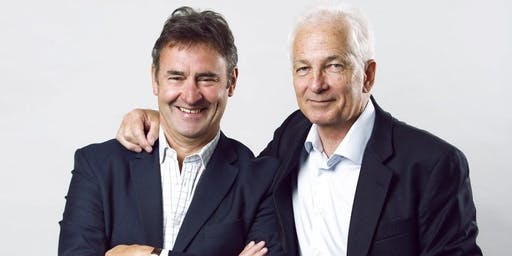 Charity Dinner with David Gower and Chris Cowdrey