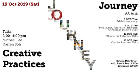 19 OCT - Creative Practices (a JOURNEY AA Asia event) tickets