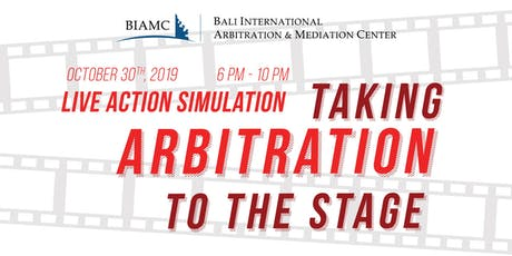 Live Action Simulation: Taking Arbitration to The Stage tickets