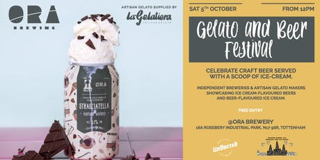 Beer and gelato festival tickets