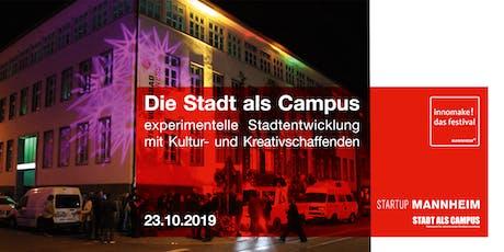 Die Stadt als Campus Tickets