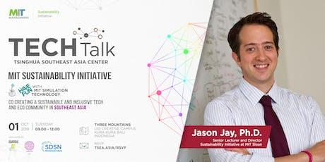 "TechTalk : ""MIT Sustainable Initiative tickets"