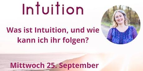 Intuition und wie kann ich ihr folgen? Interaktiver Workshop mit Meditation tickets