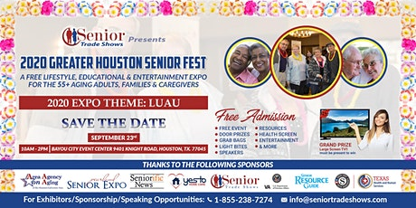 2020 Greater Houston Senior FEST-Theme: Luau tickets