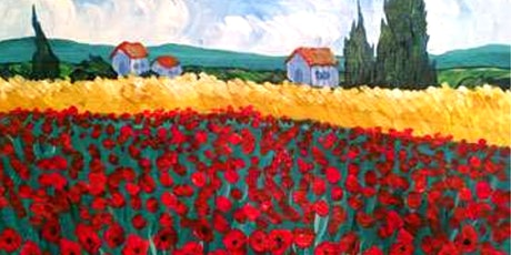 Sip & Paint Workshop' Poppies à la Van Gogh'  tickets