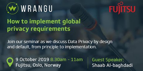 How to implement global privacy requirements in Norway - Breakfast Seminar tickets