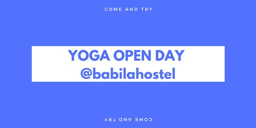 Yoga Open Day: only good vibes!