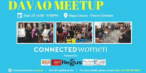 #ConnectedWomen Meetup - Davao (PH) - September 25