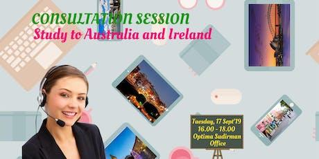 Study in Australia / Ireland tickets