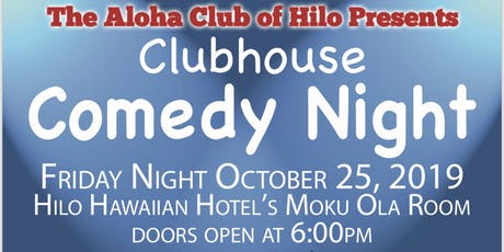 Clubhouse Comedy Night tickets
