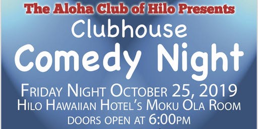 Clubhouse Comedy Night