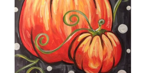 Pumpkins, Family Painting Time (Age 8+)