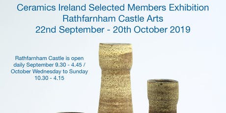 Ceramics Ireland Selected Members Exhibition tickets